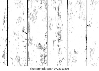 Texture of rural stained exterior vertical oak planks of country shed. Old dirty rough siding of gnarled surface wooden paneling. Rustic veined facing lumber fence of hard boards for 3D style design