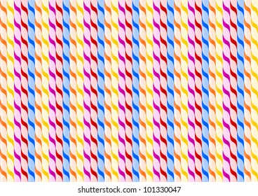 Texture of straws
