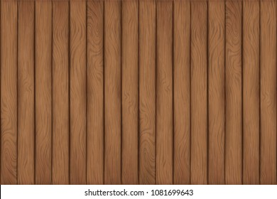 a texture of wood planks are sort in vertical line as cartoon shade on 16:9 size,artwork contains brown and dark brown color looks clearly and simple background