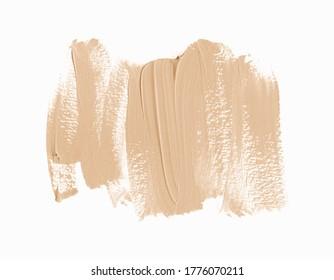 Textured brush stroke abstract art paint background. Grunge design vector.