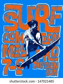 textured surf scene wear