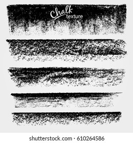 Textures of chalk and charcoal. Vector brush strokes. Soft pastel colors. Decorative frame. High resolution image. Grunge template. For registration of design projects. Saved in the brushes palette