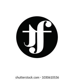 tf letter logo