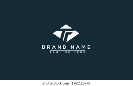TF Logo Design Template Vector Graphic Branding Element.