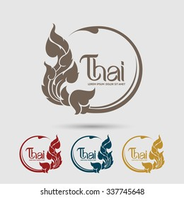 Thai Art  vector