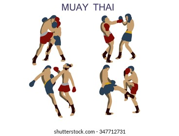 Thai boxing set