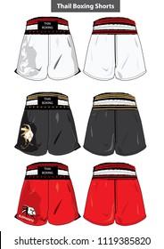 Thai boxing short