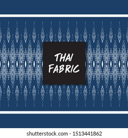 Thai fabric pattern.Wallpaper, Abstract background,Tablecloths, Clothes, Shirts, Dresses, Bedding, Blankets and other textile products-EPS10