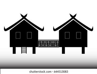 Thai House icon - Illustration Asia, Village, Thailand, Thai Culture, House