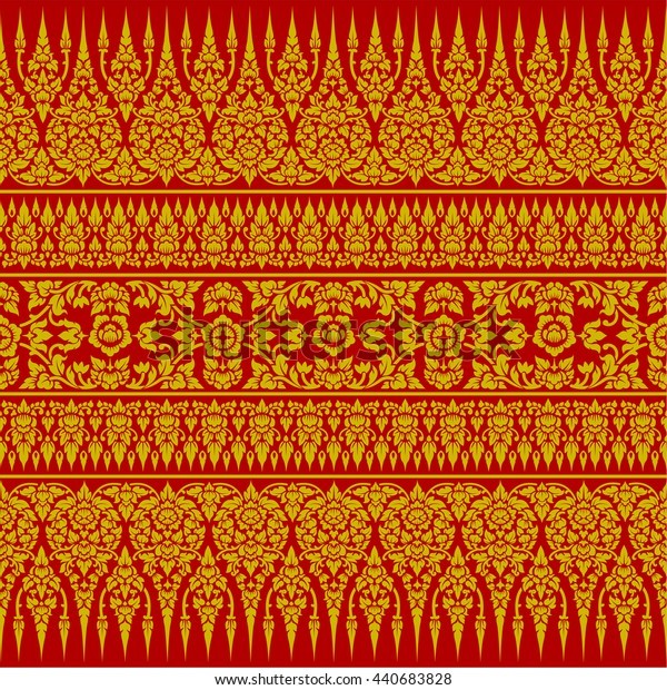 Thai Ornament Background