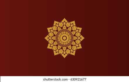 thai painting design