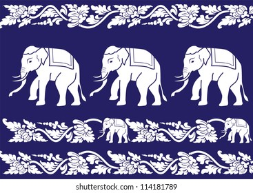 Thai Pattern Vector