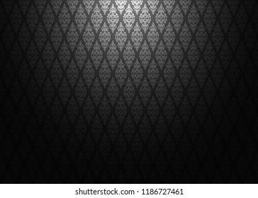 thai thailand vintage shiny culture pattern texture background wallpaper design. illustration vector.