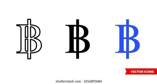 Thailand Baht Symbol Images Stock Photos Vectors Shutterstock