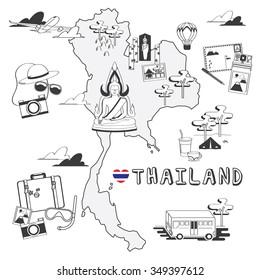 Thailand Doodles