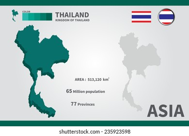 Thailand world map thai map pixel stock vector hd royalty free thailand flag asia world map vector illustration gumiabroncs Image collections