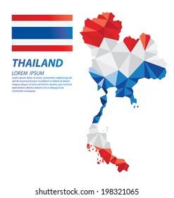 Thailand geometric concept design