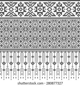 Thailand pattern design of the culture.