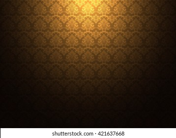 Thailand thai vintage pattern texture background wallpaper design vector