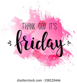Royalty Free Thank God Its Friday Images Stock Photos Vectors