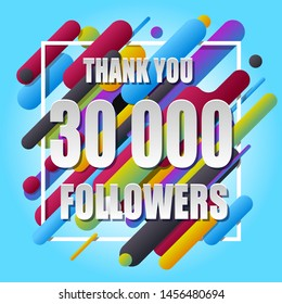 Thank You 30000 followers banner