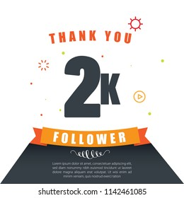 Thank you Follower. Online Social Media Achievement