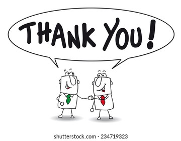 Thank you. Joe and ben the businessmen say thank you. They are colleagues in the company