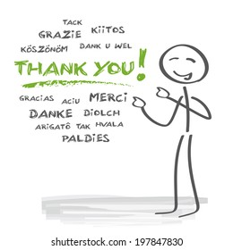 how to say thank you in many different languages
