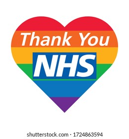 Image result for nhs rainbow thank you