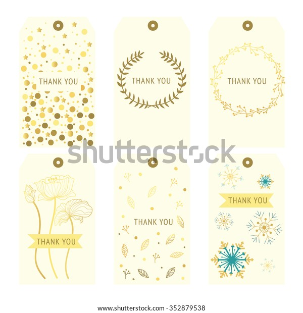 It is an image of Thank You Printable Tags throughout free printable whimsical gift