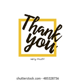 Thank you vector, clip art. Thank you very much. Also useful as card, brochure, poster, greeting, invitation, social media post and illustration. Compatible with ai, cdr, jpg, png, svg, pdf and eps.