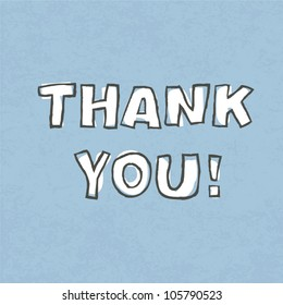 Thank you. Vector illustration, EPS 10