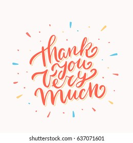 Thank you very much. Lettering.