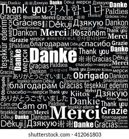 thanks in different languages design