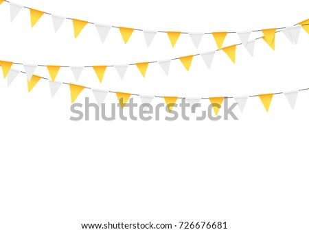 Thanksgiving Bunting Flags Holiday Decorations
