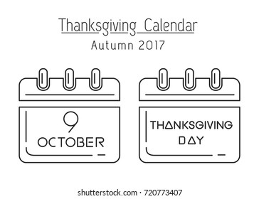 day thanksgiving calendar date images stock photos vectors rh shutterstock com thanksgiving 2018 calendar thanksgiving 2018