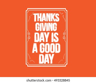 Thanksgiving Day quote
