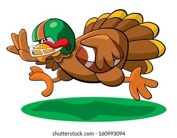Thanksgiving Football Turkey