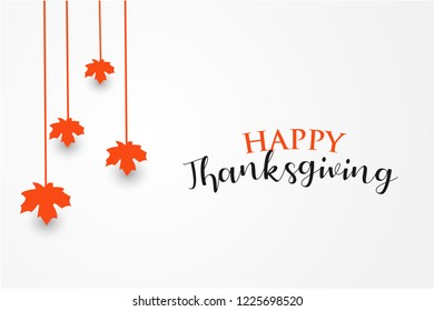 thanksgiving greeting card vector illustration. background design