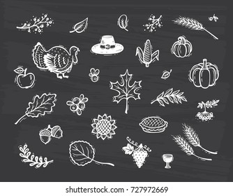 Thanksgiving Chalkboard Images Stock Photos Vectors Shutterstock