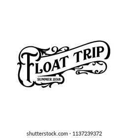 For that float trip on the river!  Fun design for personal use on tshirts and such.  Use in home vinyl cutting machines.