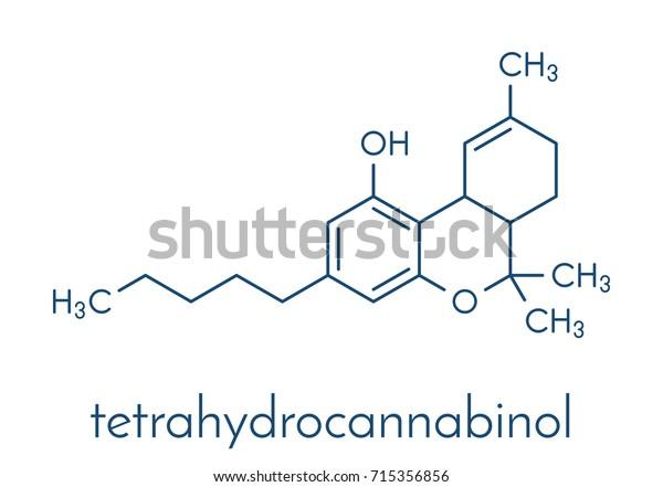 Thc Delta9tetrahydrocannabinol Dronabinol Cannabis Drug
