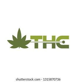 THC logotype vector
