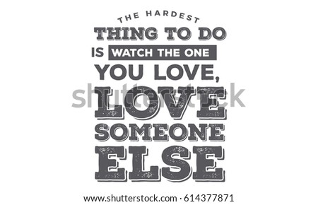 The Hardest Thing Do Watch One Stock Vector Royalty Free 614377871