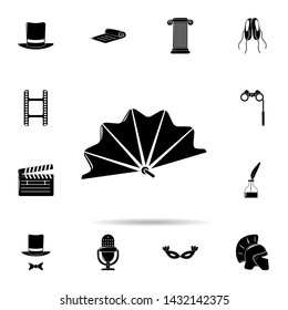 theater prompter icon. Universal set of cinema and teatr for website design and development, app development