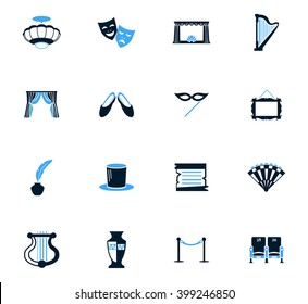 Theater symbol for web icons