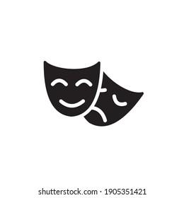 theatre icon symbol sign vector