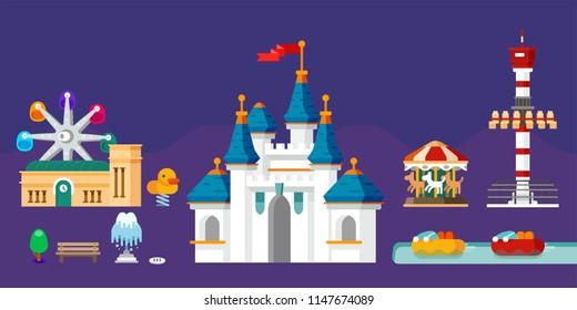 theme park, seoul, jamsil, amusement park,