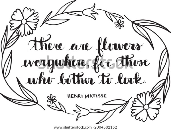 There are Flower Everywhere Vector