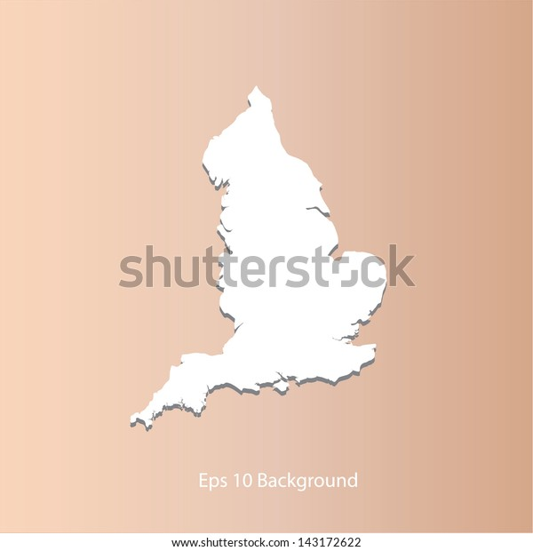 There is a map of Great Britain country